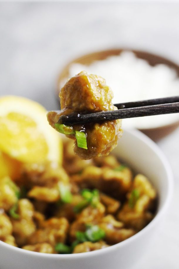 Spicy and Crispy Orange Chicken
