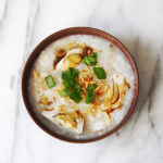Pork & Shrimp Congee (Rice Porridge) Recipe