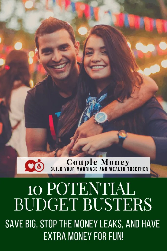 Trying to pay your debts off faster? Here are 10 potential budget busters you need to review ASAP! #family #marriage #money #saving