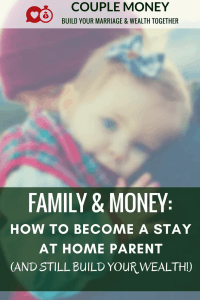 Want to have more time for your kids? Learn how prepare your finances so you can become a stay at home parent without breaking your budget!