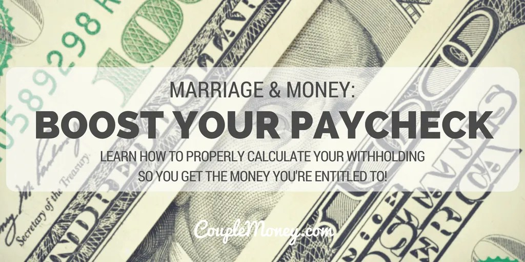 LEARN HOW TO PROPERLY CALCULATE YOUR WITHHOLDING SO YOU GET THE MONEY YOU'RE ENTITLED TO!
