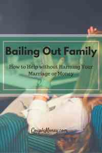 Are you feeling pressured to lend money to your family? Here's how you can help them without harming your finances or marriage!