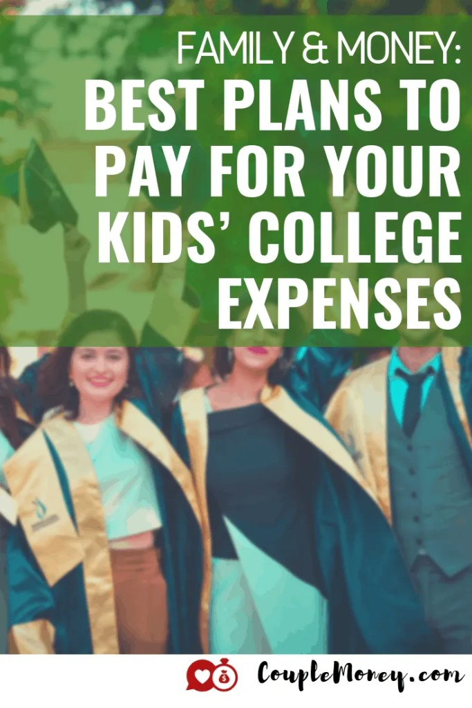 No parent wants their kids to go deep in debt, but education can be pricey. Learn what options are available and how to best save up for your kid's college expenses! #debtfree #collegefund