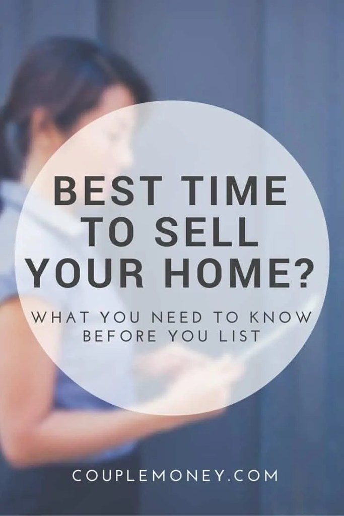 Find out how you can figure out the best time to sell your house so you can maximize your price and have less stress! #realestate
