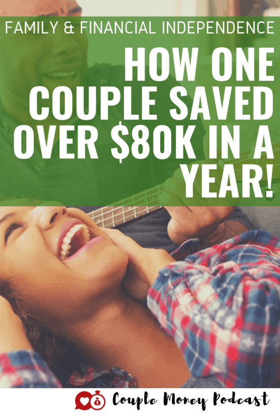 Want to retire early, but your spouse isn't ready? Learn how Jamila and her husband got on the same page with financial independence and saved over $80,000 last year!  #fi #marriage #money #financialindependence #FIRE