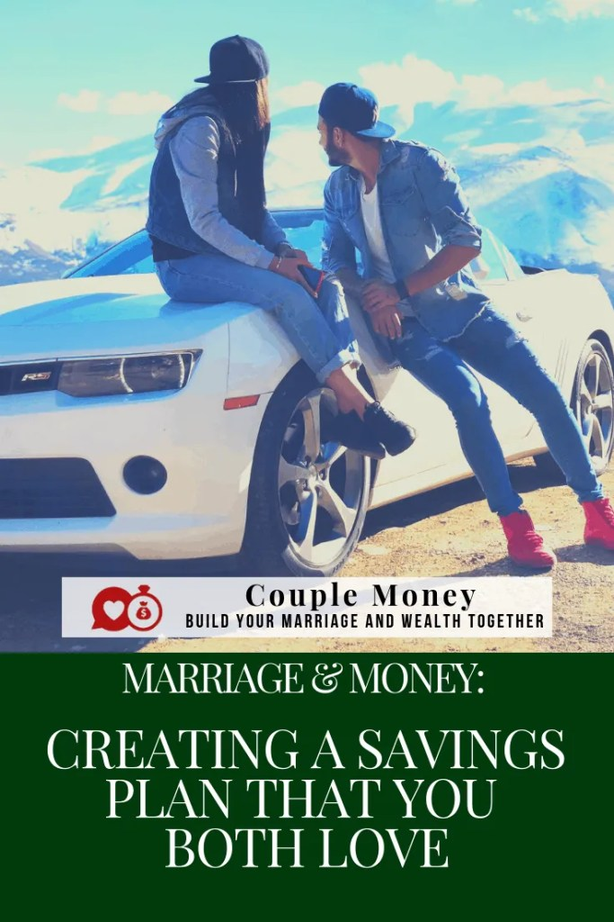 Feeling frustrated you're not saving enough? Get the tools and tips on how you two can work together and create a savings plan that you both love!  #marriage #money #debtfree #frugal