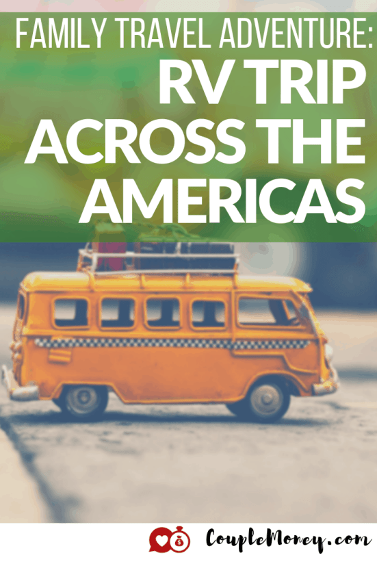 Ever dream of getting away from it? Learn how you can prepare for your own adventure as Mike shares how he and his wife took their family on an RV trip across the Americas! #familytravel #frugalliving #travel