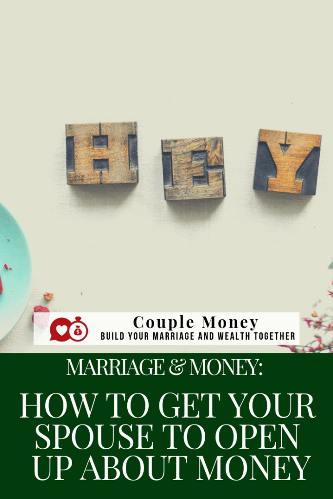 Ready to tackle your finances, but your spouse isn't on board? Learn how you can get them to open up and work as a team with your money! #marriage #family #money