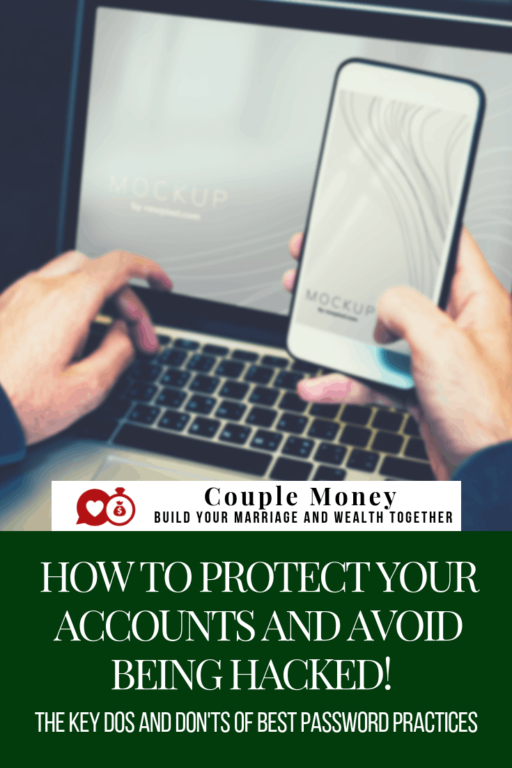Want to protect your accounts and finances online? Here are the key password practices to keep your accounts secure and minimize your chances of being hacked! #family #money #passwords
