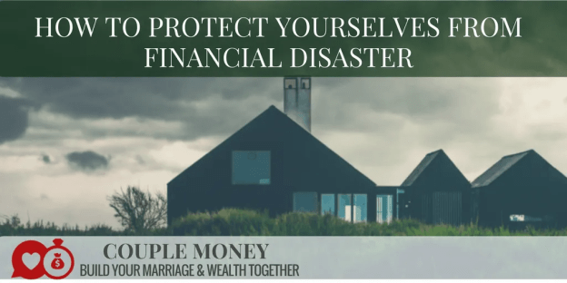 Have you ever felt stressed and out of options because of an emergency that came up?  Today we're going to share how you can prepare for financial disasters and protect yourselves!