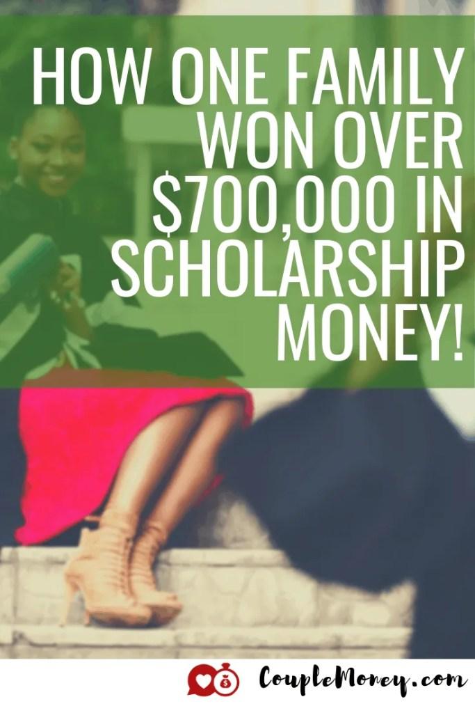 ¿Quiere ayudar a su hijo a graduarse de la universidad sin deudas? ¡Aprenda la estrategia y las tácticas que una madre usó para enganchar a su hijo $ 700,000 en becas! #debtfree #scholarships #familyfinances