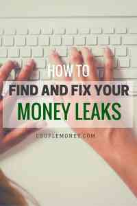 Looking to get out of debt or save more, but have a tight budget? Learn how you can find and fix money leaks so you can  build your wealth faster!