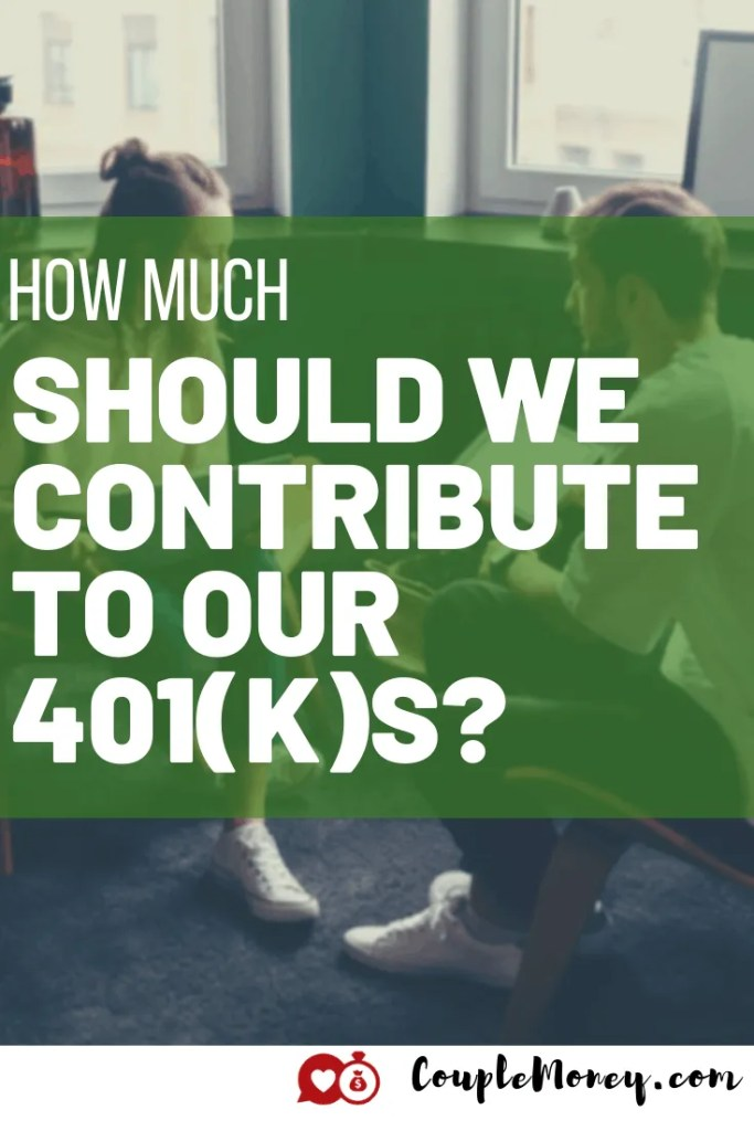 Want to maximize your 401(k) this year? The first step is figuring out how much to contribute. Today we discuss how much you need to put in to retire! #investing #retirement