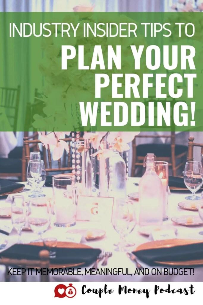 Wedding planner Megan Gillikin as plenty of insider tips to help you plan a fantastic wedding (and still stick to your budget)!  #wedding #money #budget #weddingplanning