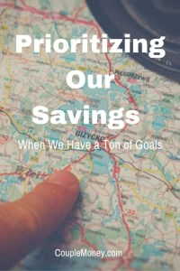 See how we managed to prioritize our savings to reach our goals.