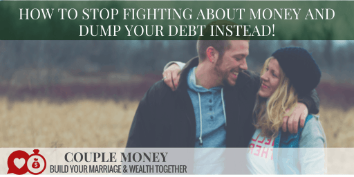 Want to pay off your debt, but you can't agree on how to do it? Learn how one couple stopped fighting about money, found a system they both loved and dumped $100k of debt! #marriage #money #debtfree
