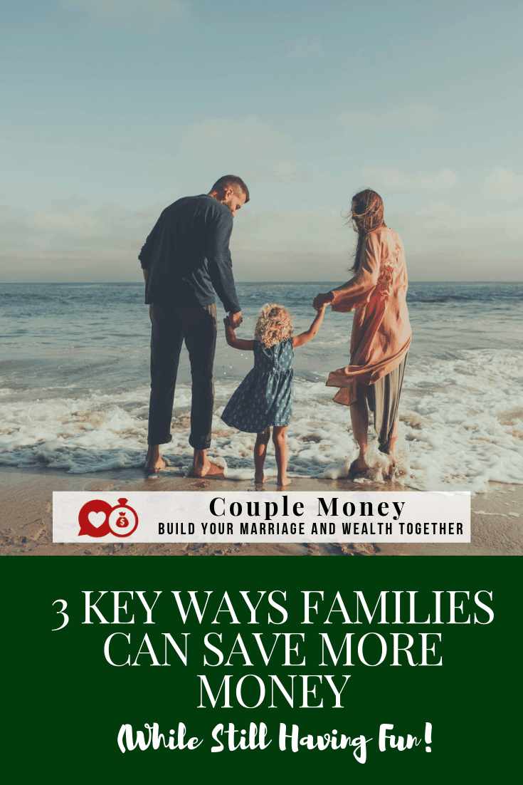 Does your family budget feel tight? Learn three key ways on how you can save hundreds of dollars each month raising your kids and still having fun!  #debtfree #frugalliving #fi #fire