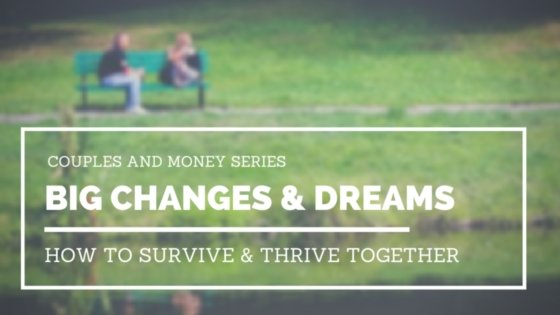 Learn how to communicate and work through big changes in your life and marriage.