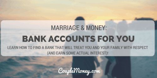 best bank accounts for couples couple money