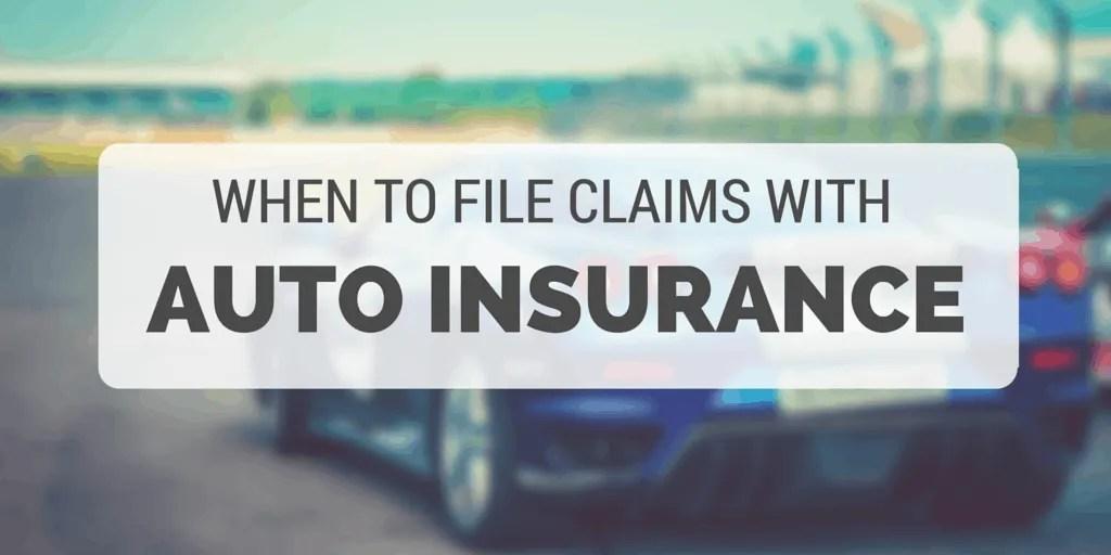 file claims auto insurance