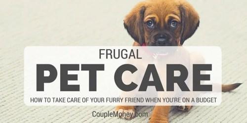 frugal Pet Care couple money