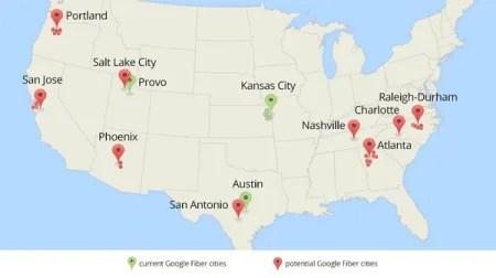 google fiber expanding
