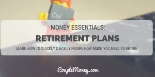 retirement planning tools couple money