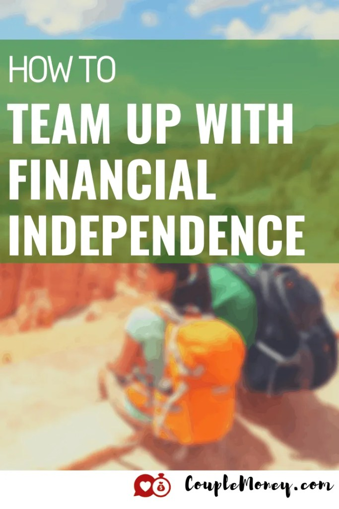 How do you get your spouse on board with becoming financially independent? ChooseFI founder and host Brad Barrett shares his journey and some key takeaways! #financialindependence #financialfreedom #debtfree #fi #marriage #money