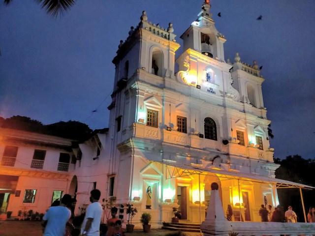 Old Goan Church at Panjim