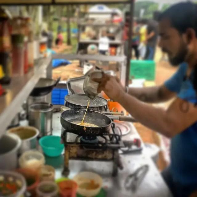 Goan Ros (Gravy) Omelette