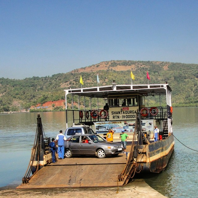 Backwater ferry transfers in Konkan