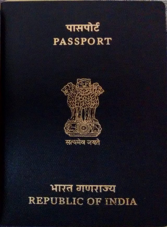 Indian Passport Manage Travel Documents