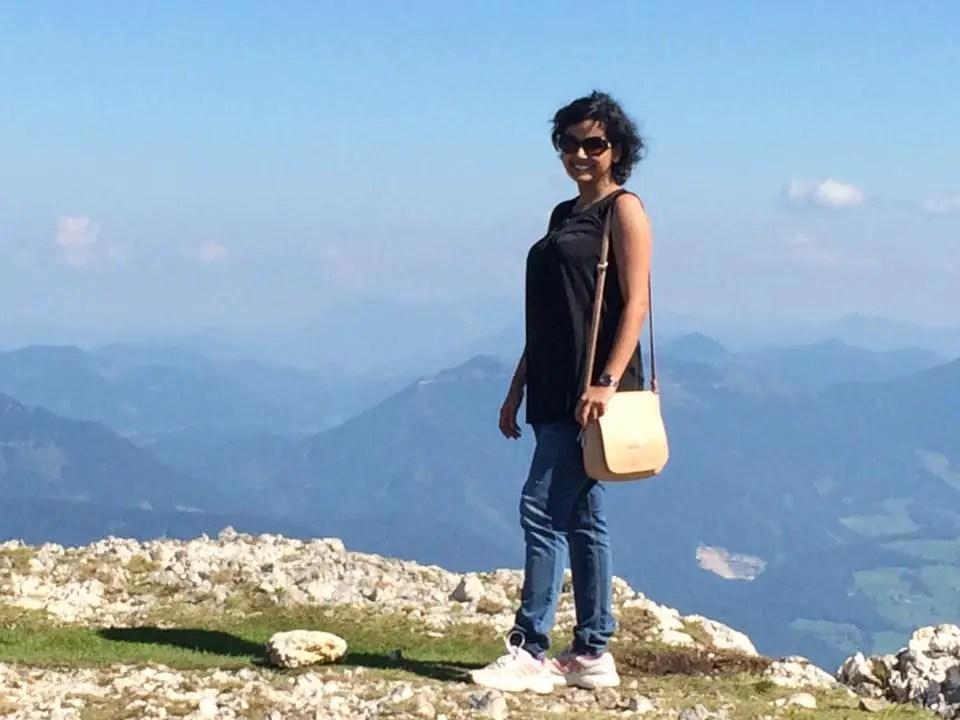 On top of Mount Untersberg, Salzburg