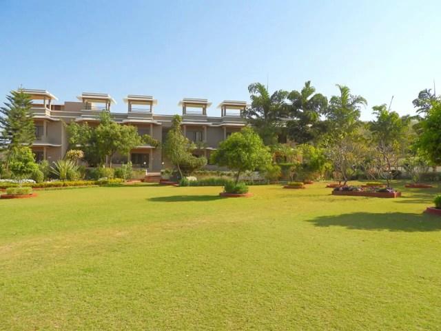 Open spaces at Araliayas Resort