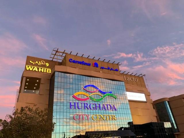 Local Mall next to Hilton Hurghada Plaza