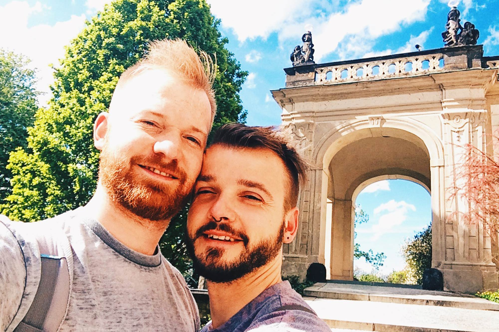 Gay Couple Travel Blogger Gay Couple City Weekend Prague © CoupleofMen.com