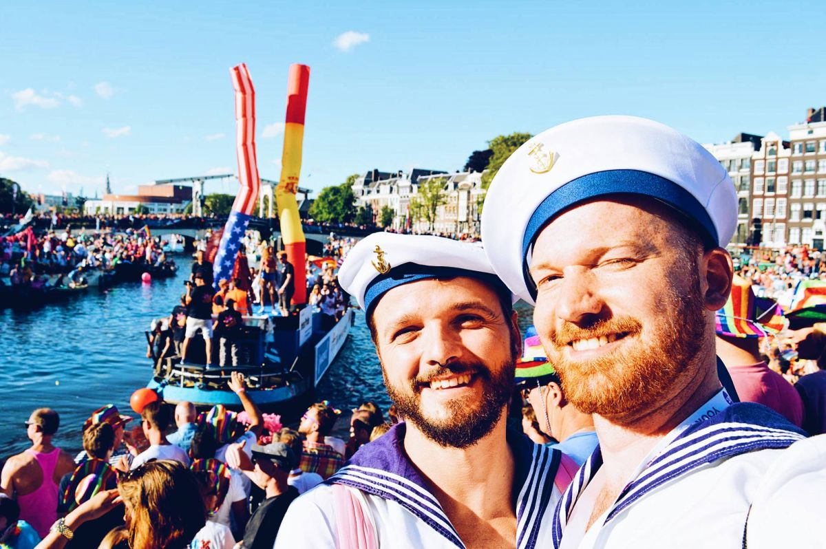 Our best Photos of the Gay Euro Pride Amsterdam 2016