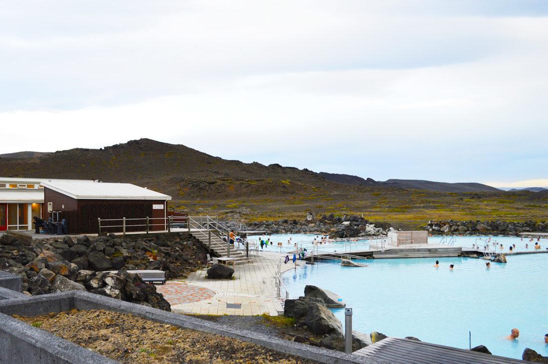 Mývatn Nature Baths | Gay Couple exploring Central North Iceland © Coupleofmen.com
