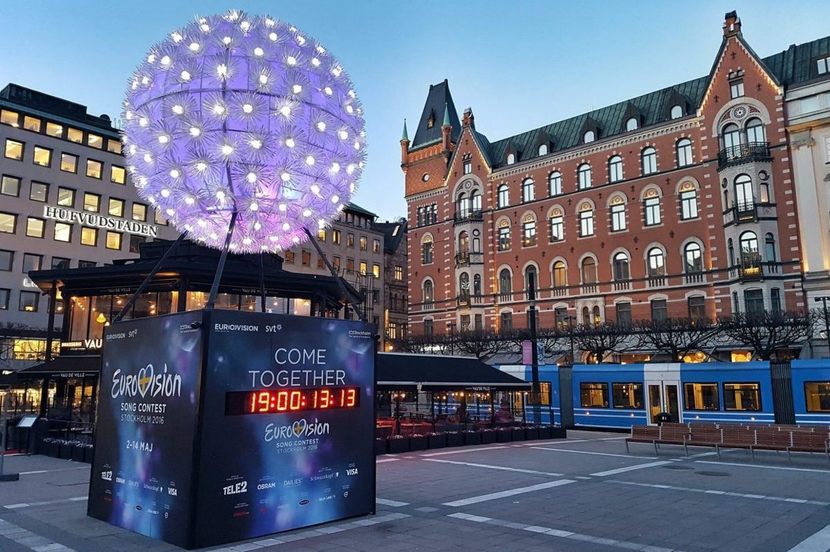 Gay Surprises Eurovision Song Contest Stockholm 2016