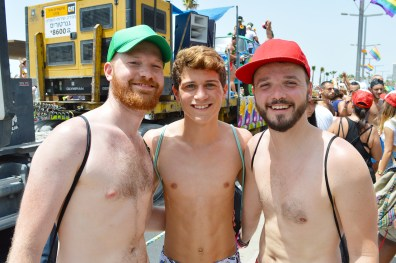 Sexy Photos Tel Aviv Gay Pride Parade 2016 © CoupleofMen.com