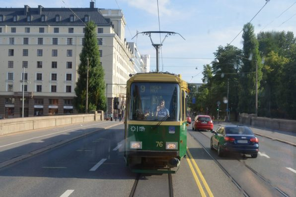 Tram Ride Helsinki | Gay Couple City Weekend Helsinki Finland © Coupleofmen.com
