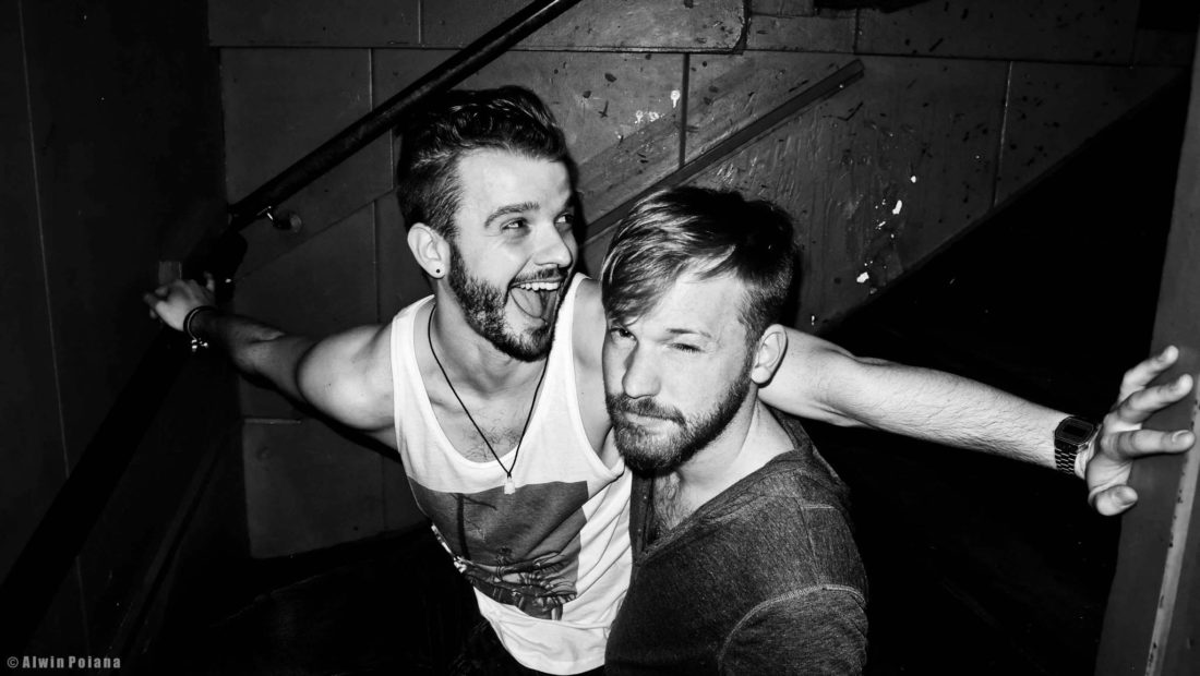Gay Night Life out in Amsterdam | Gay Couple City Weekend Amsterdam Netherlands © CoupleofMen.com