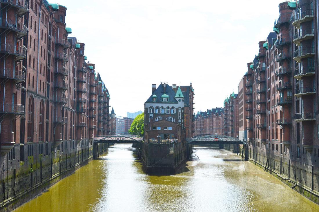 Warehouse District Hamburg   Gay Couple City Weekend Hamburg Germany © CoupleofMen.com