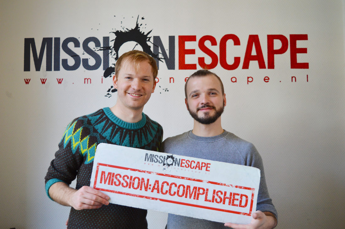 Mission Escape | Gay Couple City Weekend Nijmegen © CoupleofMen.com