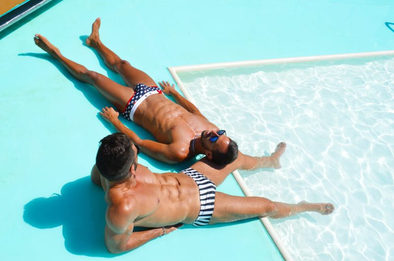 Pool Life during our Cruise | Gay Men Tips La Demence The Cruise © CoupleofMen.com