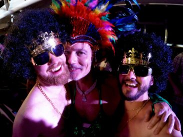 Where are you from Party | Gay Men Tips La Demence The Cruise © CoupleofMen.com