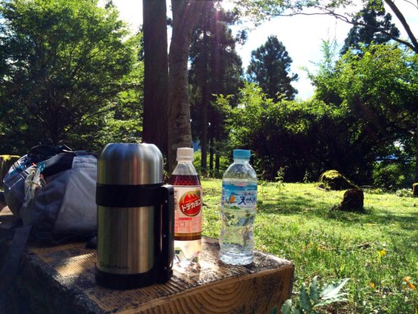 Time for our second break | Gay Couple Pilgrimage Kumano Kodo Japan © CoupleofMen.com