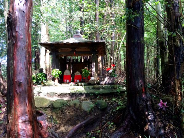 Holy shrines along the trail | Gay Couple Pilgrimage Kumano Kodo Japan © CoupleofMen.com