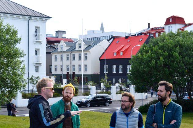 Pink Iceland City Tour Reykjavik | Gay Couple Travel City Weekend Reykjavik Iceland © Coupleofmen.com