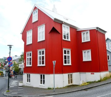 Reykjavik Gay Travel Red House | Gay Couple Travel City Weekend Reykjavik Iceland © Coupleofmen.com
